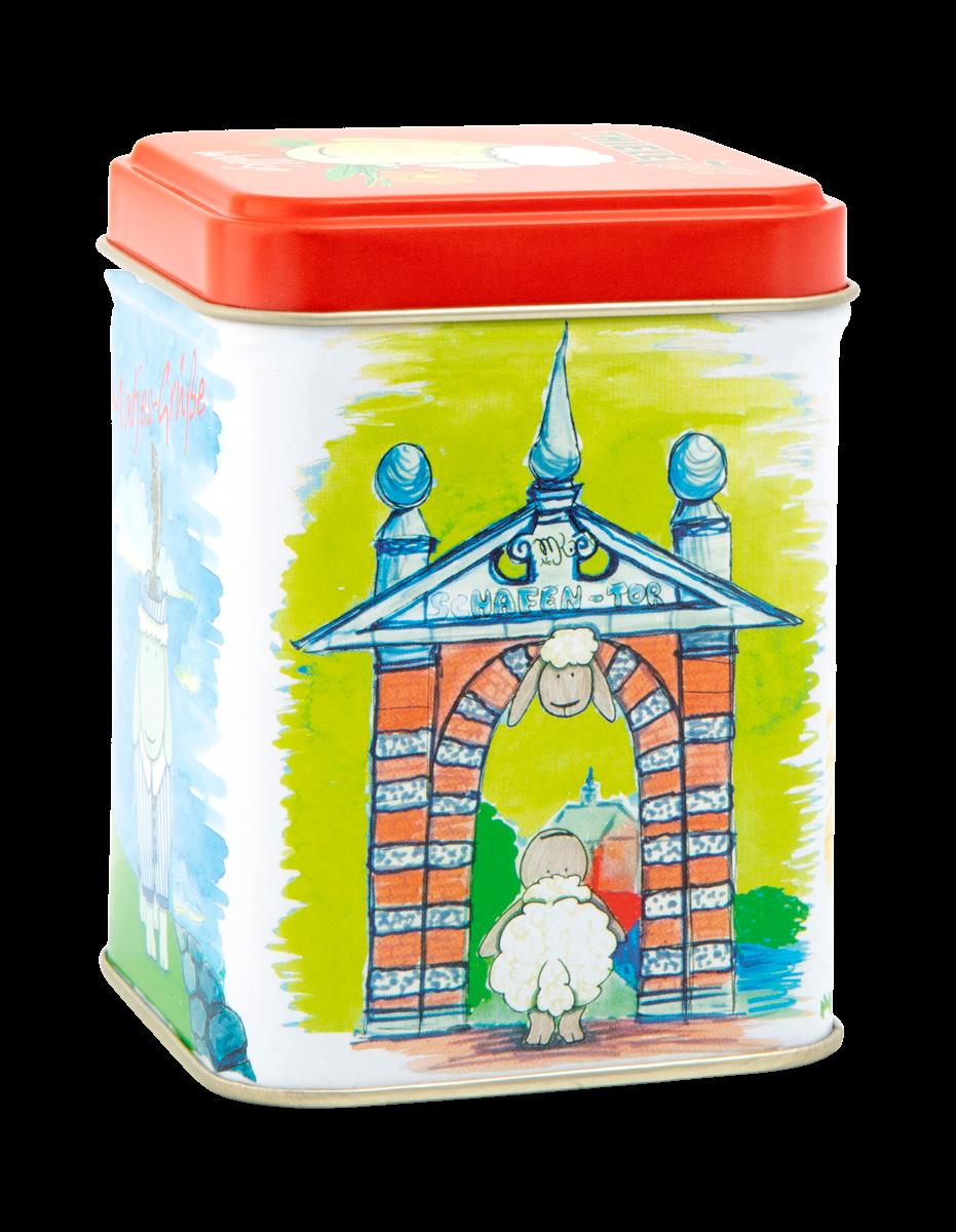 Teedose Wollkje 100g gefüllt