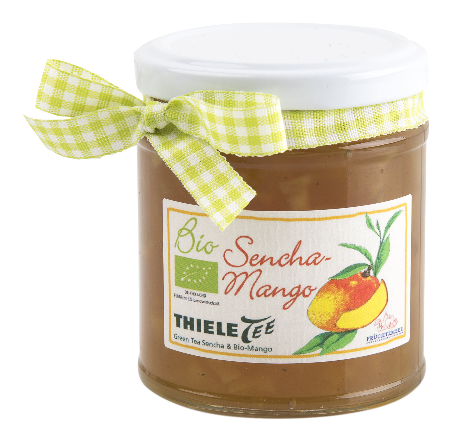 THIELE TEE Sencha-Mango Fruchtaufstrich 210g