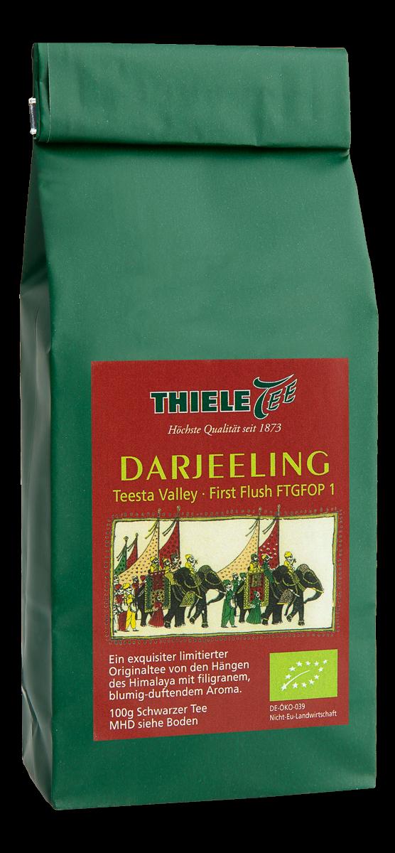 BIO Darjeeling Teesta Valley 100g