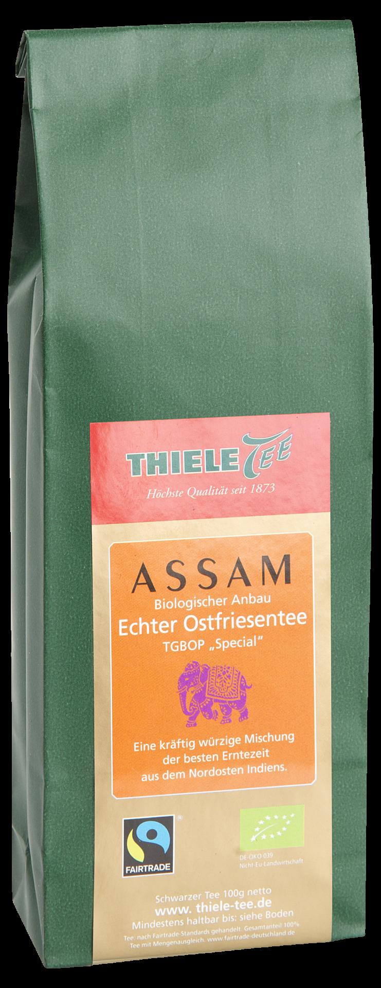 BIO FAIRTRADE Assam Second Flush 100g