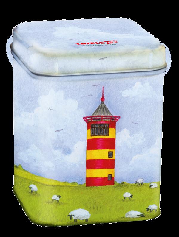 Teedose Pilsumer Leuchtturm 100g gefüllt