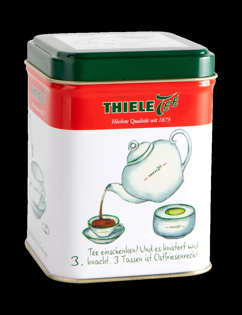 Teedose Zubereitung