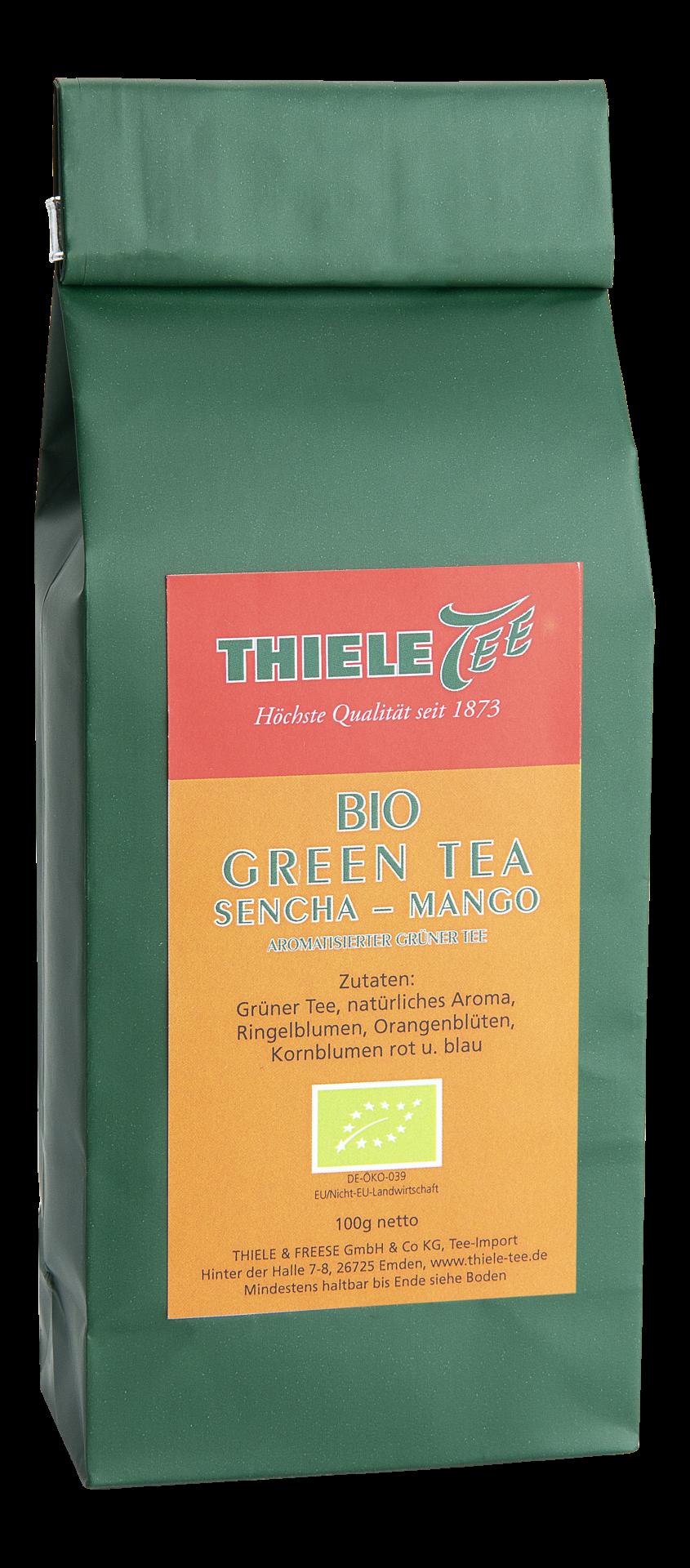 BIO Grüner Tee Sencha Mango 100g
