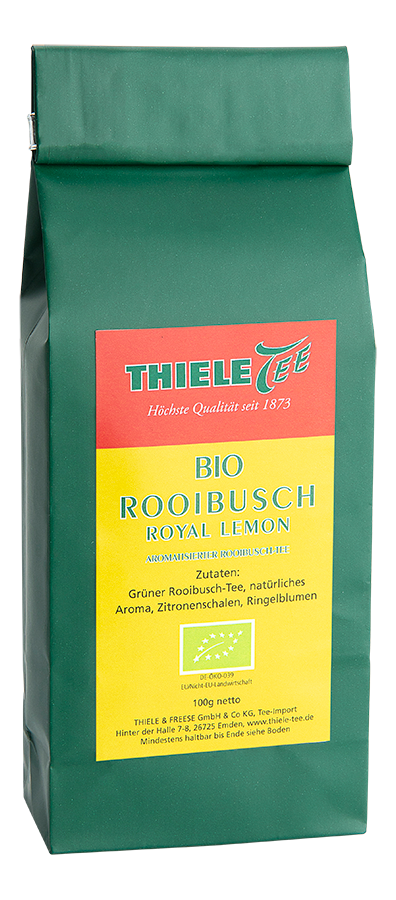 BIO Rooibos Royal Lemon 100g