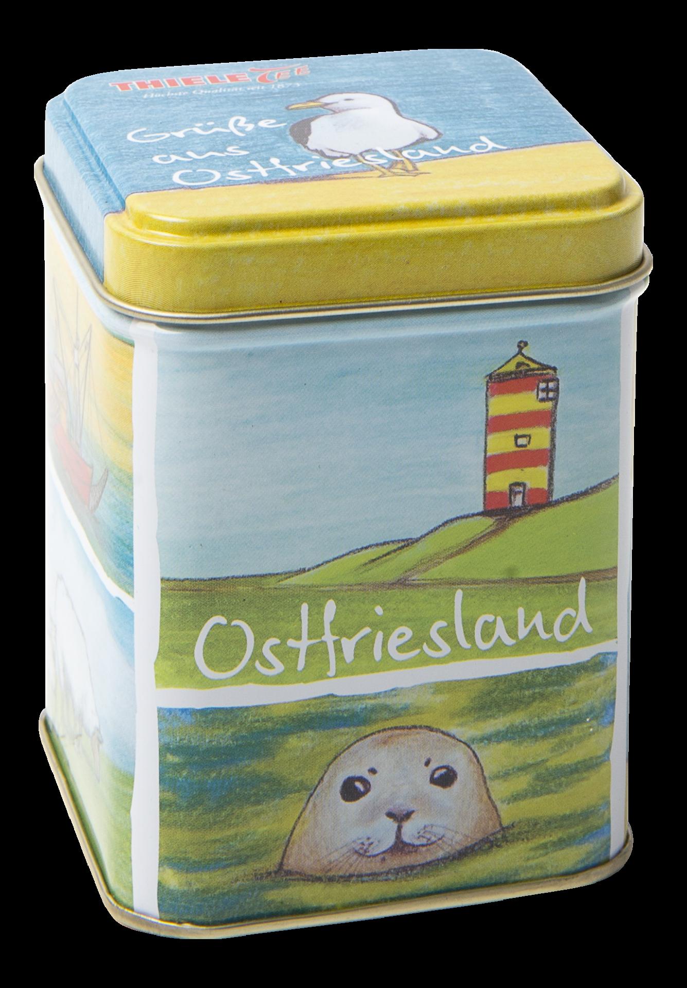 Teedose Grüße aus Ostfriesland