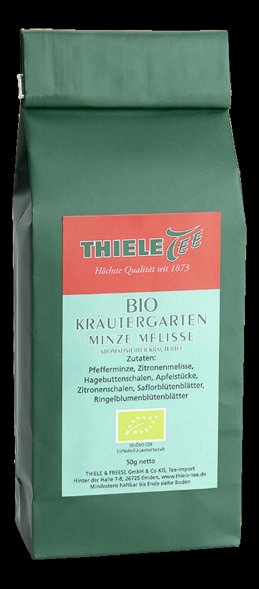 BIO Kräutergarten Minze-Melisse 50g