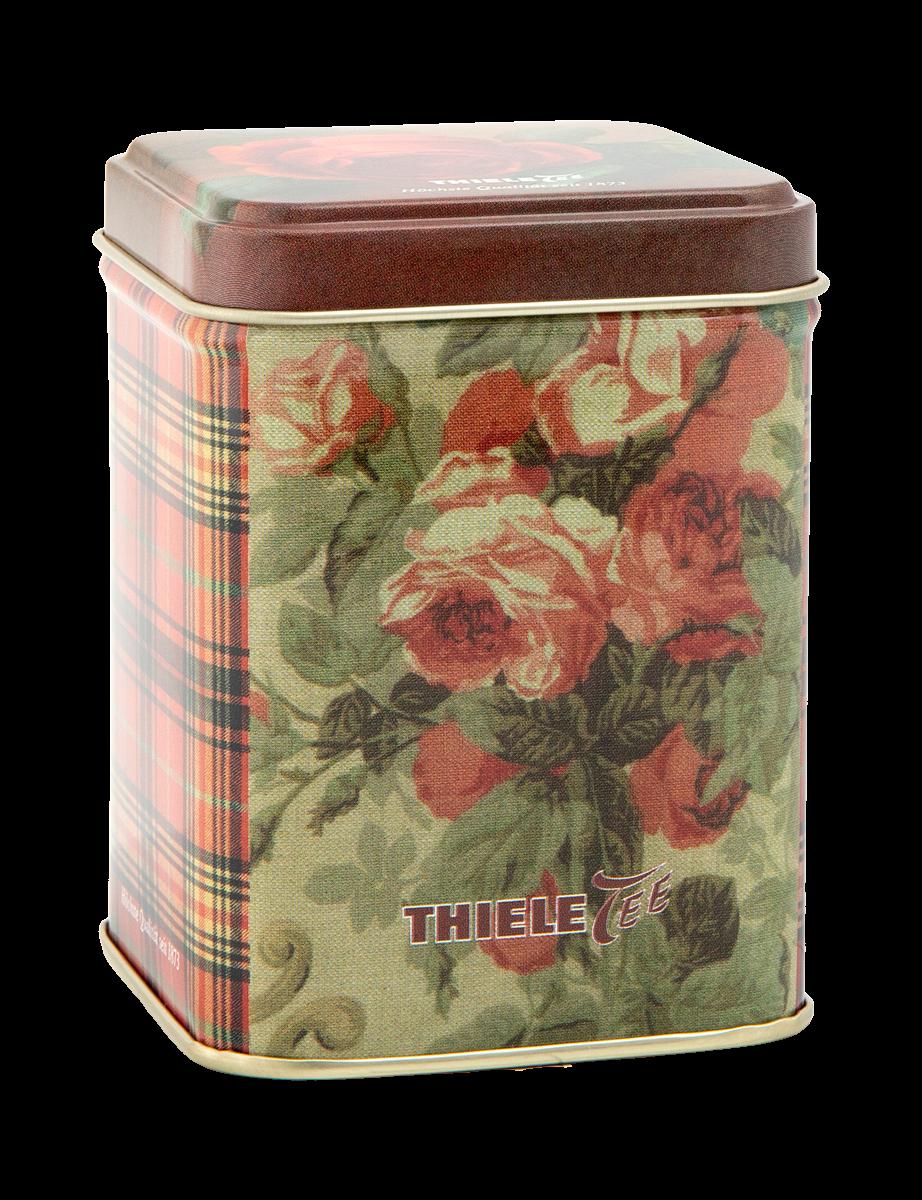 Teedose Rose 100g gefüllt