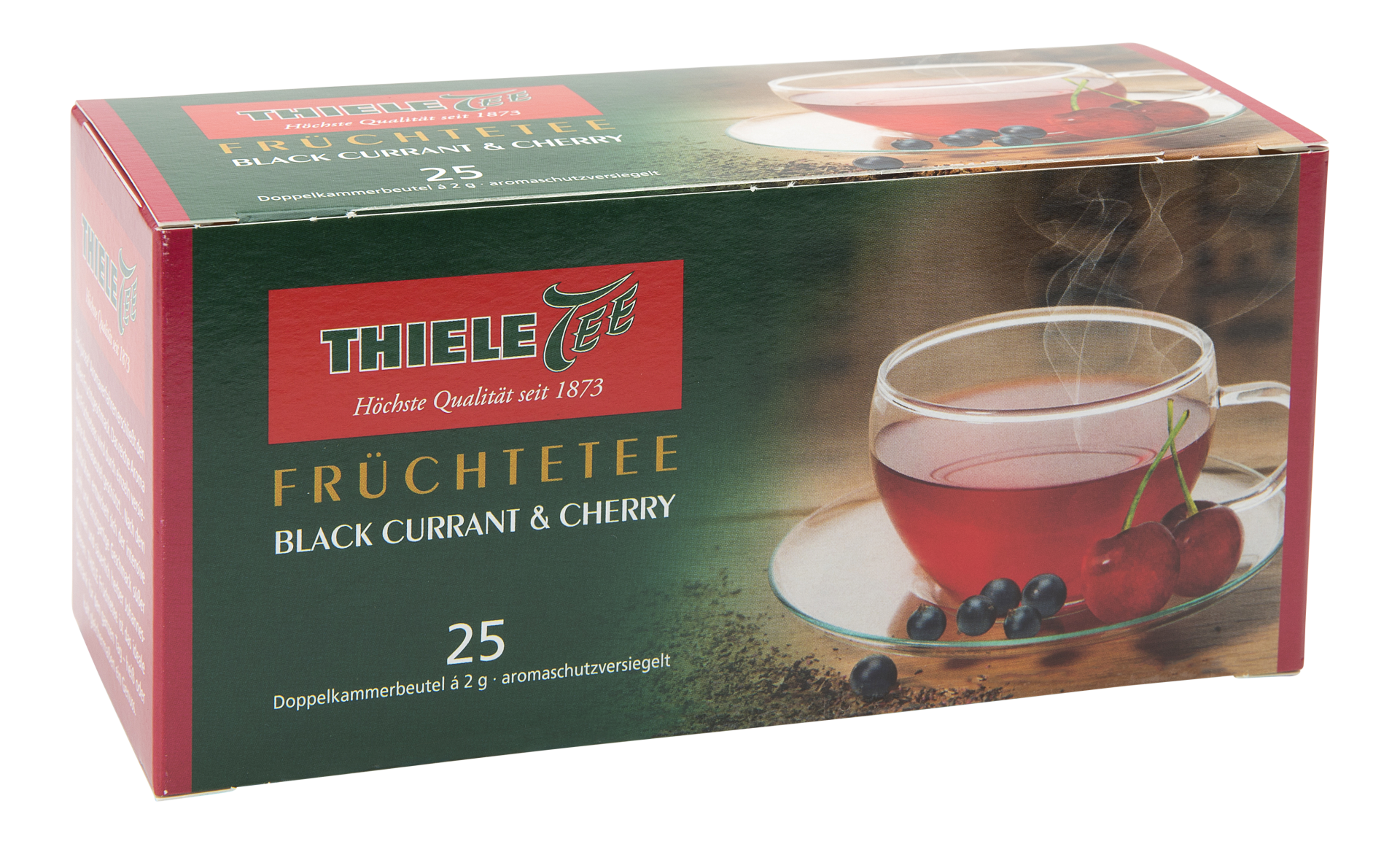 Juicea Blackcurrant & Cherry 25 x 2g