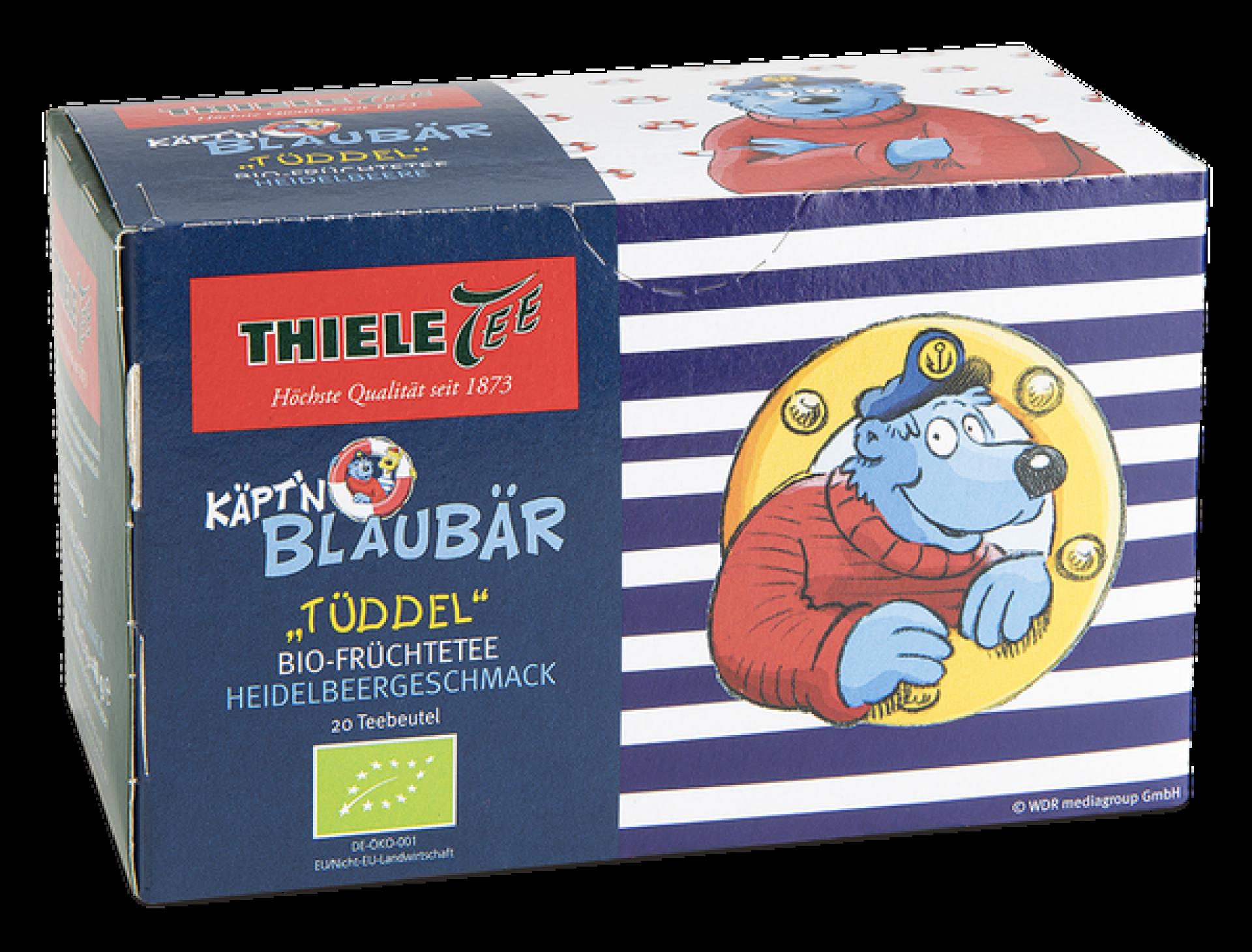 BIO Käpt´n Blaubär Früchtetee 20 x 2g