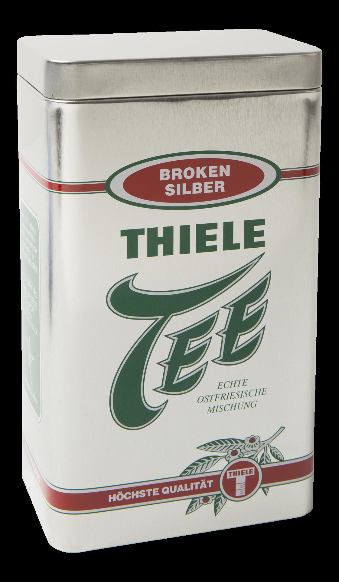 Teedose Broken Silber 500g