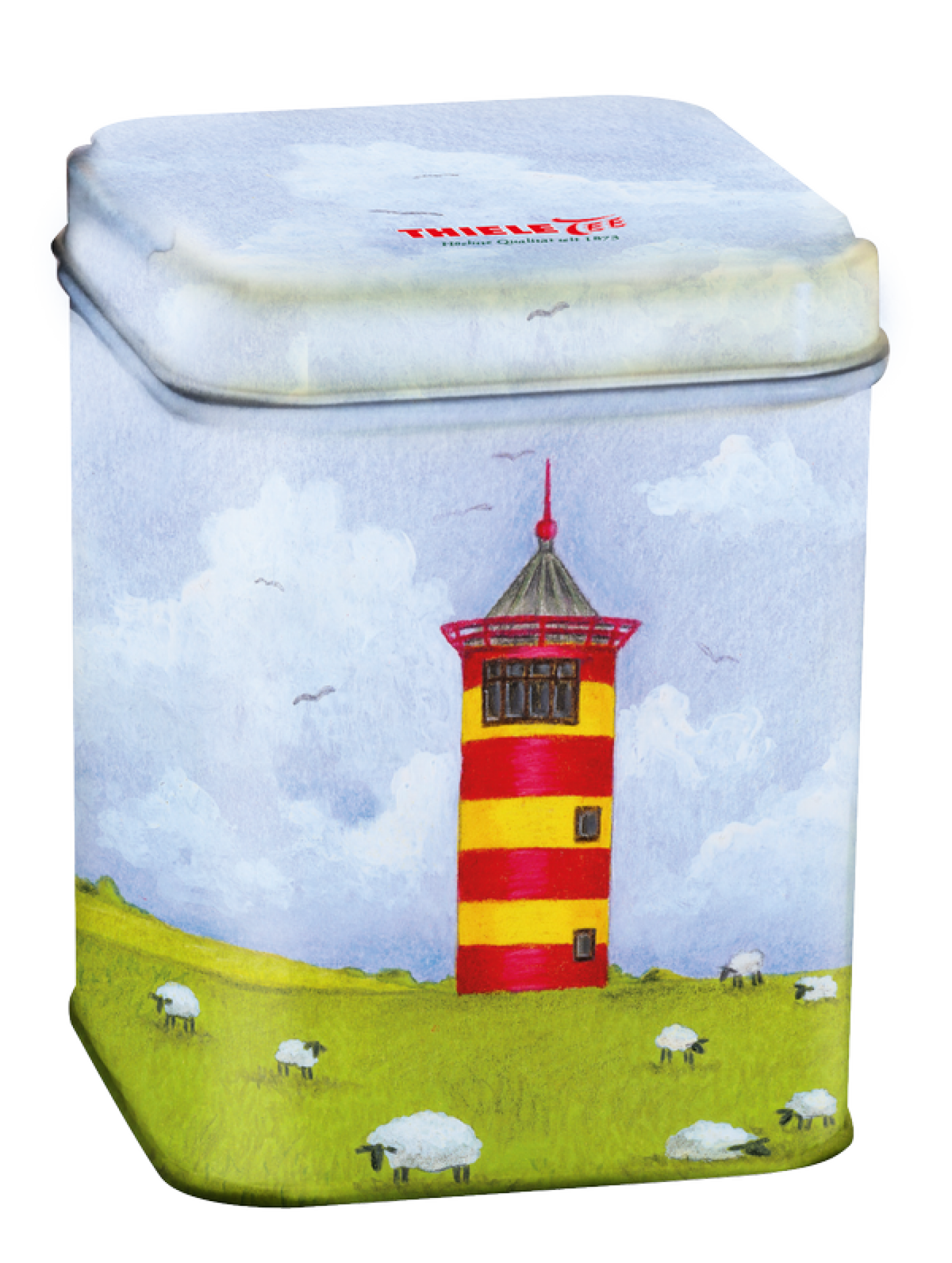 Teedose Pilsumer Leuchtturm