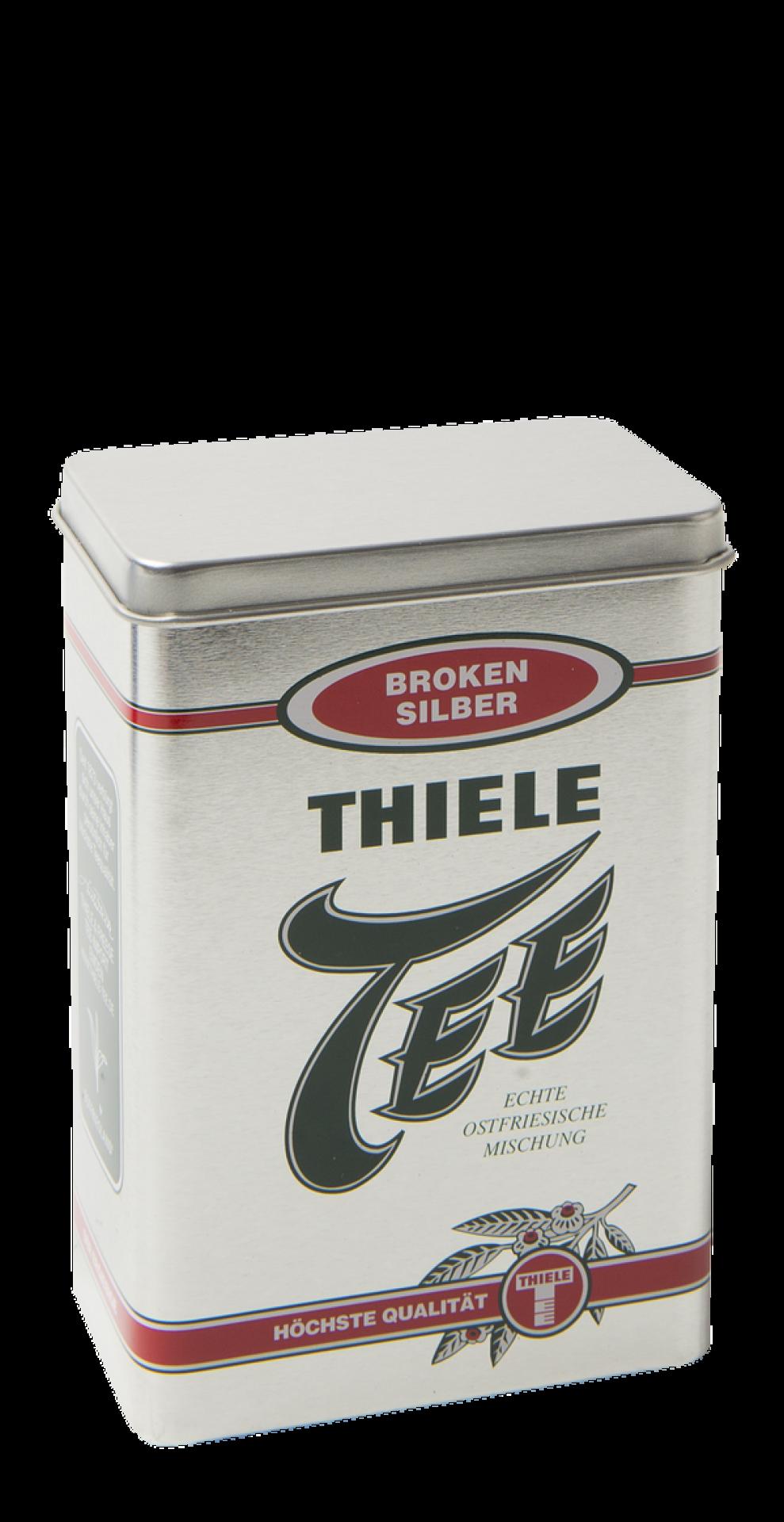 Teedose Broken Silber 50g