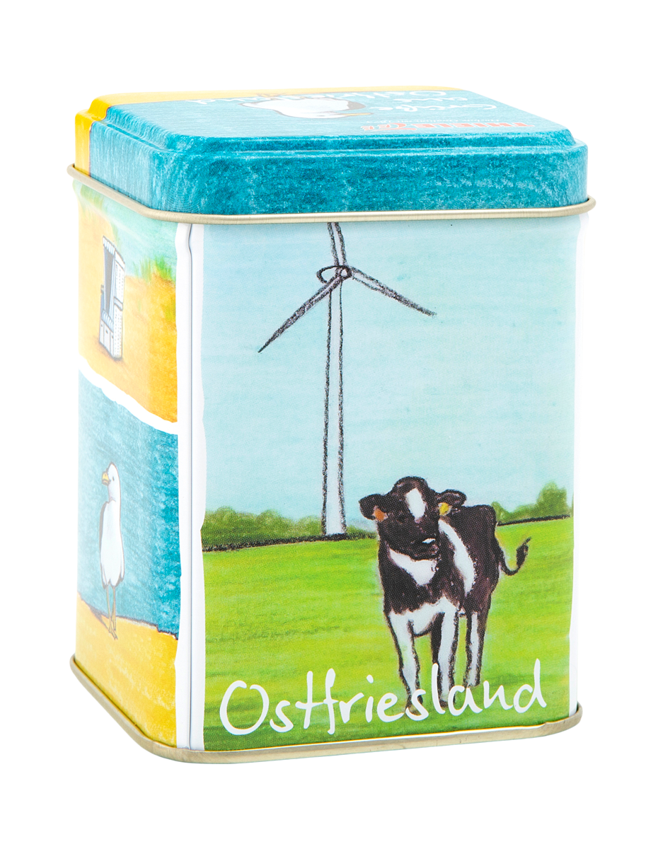 Teedose Grüße aus Ostfriesland 100g gefüllt